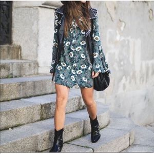Free people Majestic mystery tunic dress floral